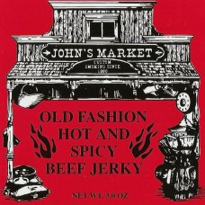 Old Fashion Hot N' Spicy Beef Jerky