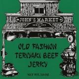 Old Fashion Teriyaki Beef Jerky