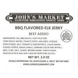 BBQ Flavored Elk Jerky