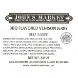 BBQ Flavored Venison Jerky