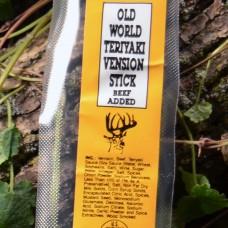 Old World Teriyaki Venison Stick
