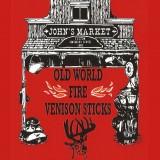 Bundle of Old World Fire Venison Sticks