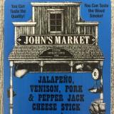 Bundle of Jalapeno Venison Pepper Jack Cheese Sticks