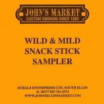 Wild & Mild Snack Stick Sampler