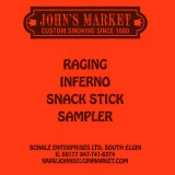 Raging Inferno Snack Stick Sampler