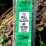 Old World Alligator and Chicken Stick
