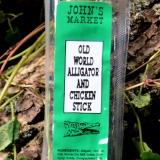Old World Alligator and Chicken Stick