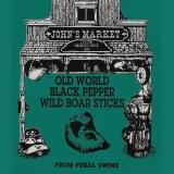 Bundle of Old World Black Pepper Wild Boar Sticks